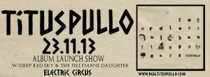 titus pullo album launch
